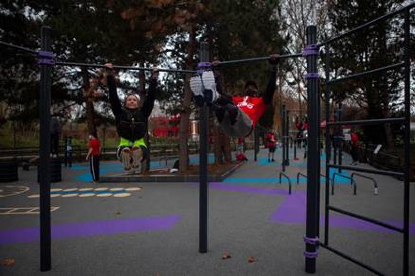 Le Parc De La Villette Ouvre Son Nouvel Espace De Workout Le Jardin Des Voltiges Sortiraparis Com