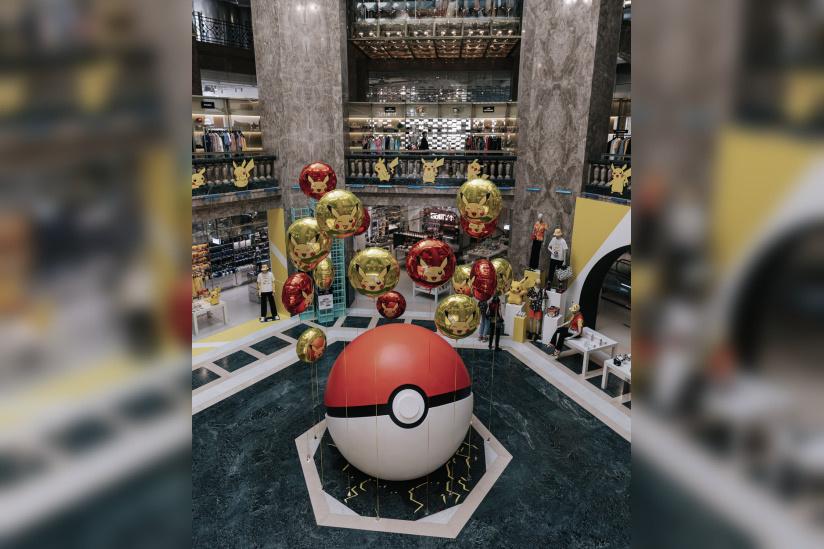 Pokémon celebrates their 25th anniversary at Galeries Lafayette ...