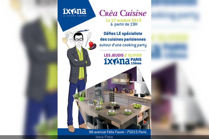 Les Cours De Cuisine Gratuit D Ixina Paris Sortiraparis Com