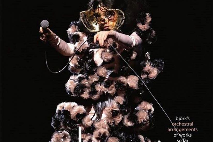 Björk en concert à La Seine Musicale en juillet 2020