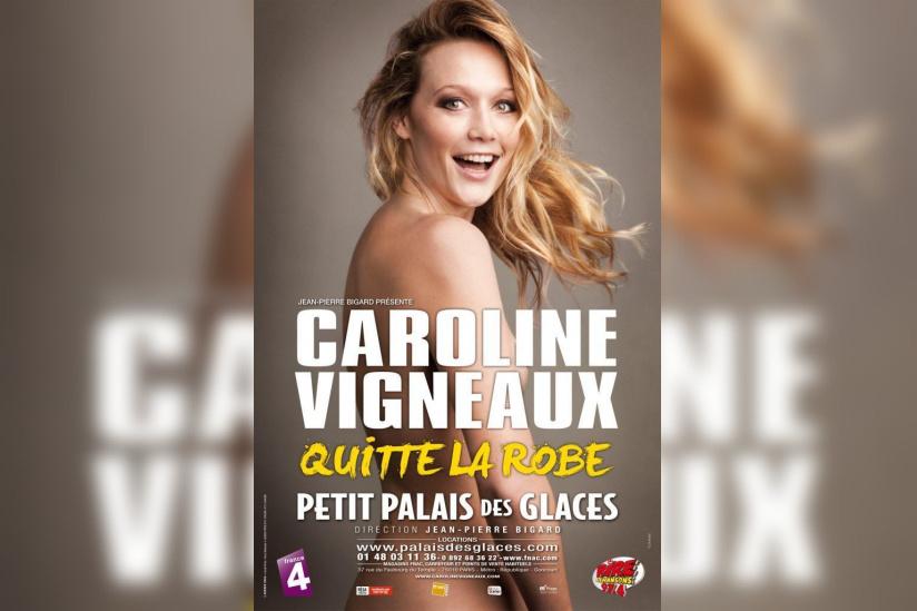 Caroline Vigneaux quitte la robe - Sortiraparis.com