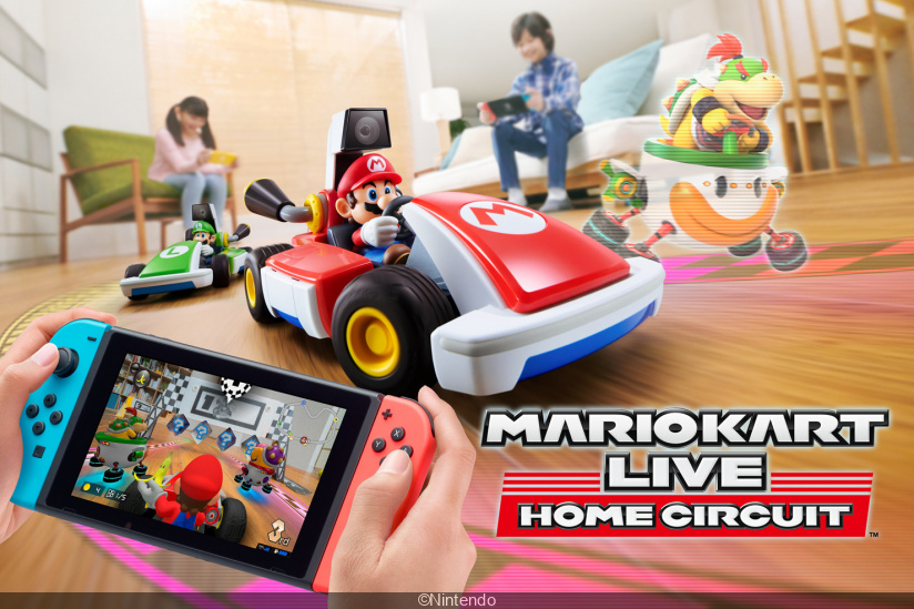 Mario Kart Live Home Circuit Le Jeu Qui Transforme Votre Salon En Circuit Devoile Son Gameplay Sortiraparis Com