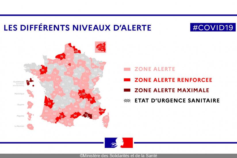 Coronavirus Les Differences Entre Zone D Alerte Alerte Renforcee Et Alerte Maximale Sortiraparis Com