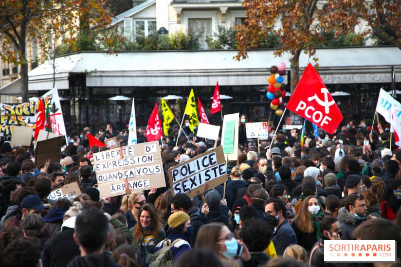 Securite Globale Nouvelle Manifestation Prevue Ce Samedi A Paris De Porte Des Lilas A Republique Sortiraparis Com