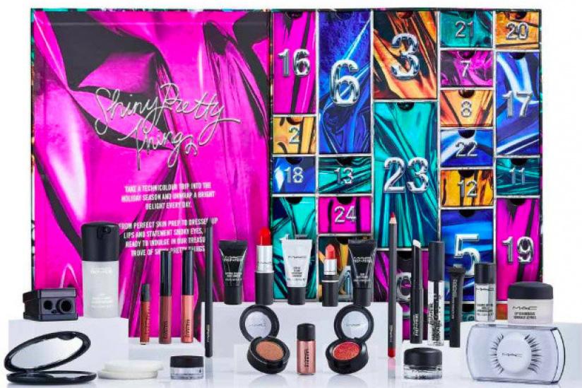 Le calendrier de l'Avent MAC Cosmetics 2018 : Shiny Pretty Things