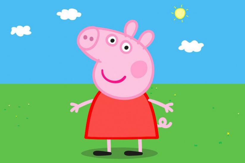 Un showcase de Peppa Pig à la Grande Récré Beaugrenelle