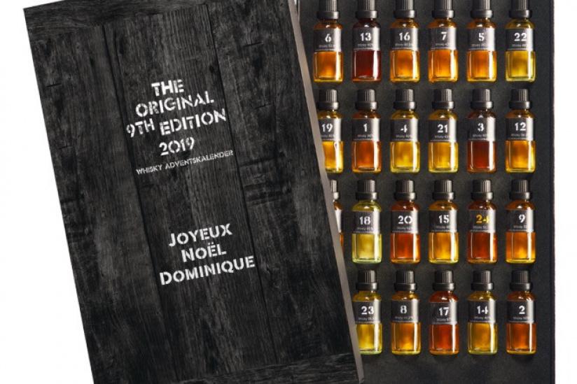 Les calendriers de l'Avent 2019 whisky x liqueurs de Historia