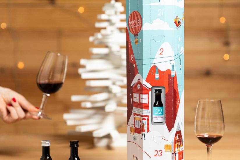Wines and spirits Advent Calendar 2020 by Domaine du Goût