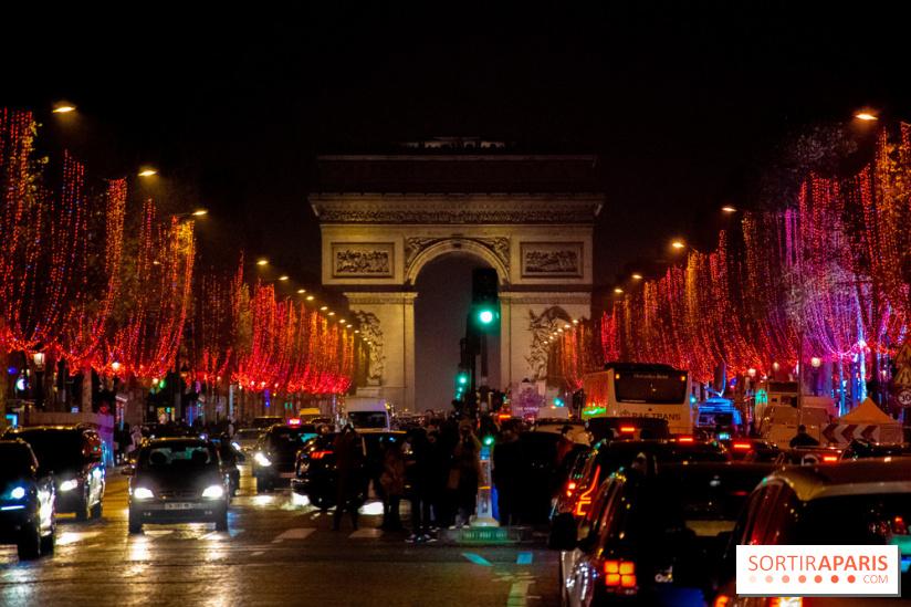 Les Illuminations de Noël des Champs-Elysées 2018 avec Karl Lagerfeld