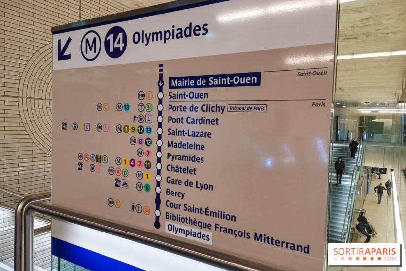 Prolongement de la ligne 14 du métro - station Mairie de Saint-Ouen