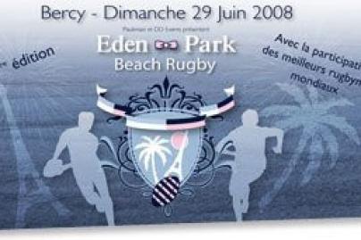 Eden park beach rugby - Sortiraparis.com