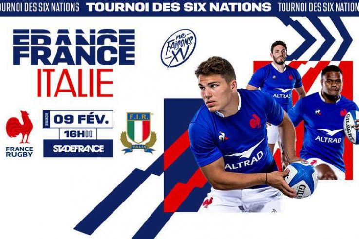 rencontre france italie rugby