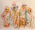 Le Monstre, la Momie, la Poupée et le Lapin Exposition chez Console