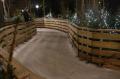 le sentier de glace du Le marché de Noël des Champs-Elysées 2011