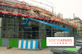 Le chantier des Halles en photos