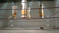 Exposition Dégagement, Institut du Mond Arabe, Faten Gaddes, Punching - ball,