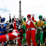 Le Flash Mob Power Ranger à Paris