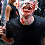 Zombie Walk à Paris 2012