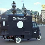 Le food truck Mozza & Co fait sa fashion week