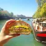 Mademoiselle Rose : cave à manger flottante