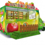 Andros Tour 2015 : le food truck débarque à Paris