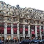 Galeries Lafayette sur les Champs-Elysées