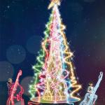 illuminations de Noël 2014 du Forum des Halles
