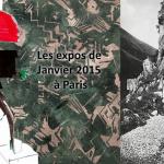 Les expositions de Janvier 2015 à Paris