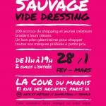 Vide dressing by Violette Sauvage rue des Archives