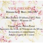 Vide dressing Particulières