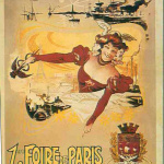 affiche 1ere Foire de Paris en 1904