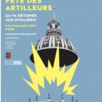 Fête de la Sainte Barbe 2014 aux Invalides à Paris