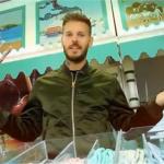 Matt Pokora inaugure la Foire du Trône pour le Secours Populaire