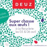 Chasse aux oeufs à la Recyclerie by DEUZ