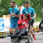 Courir ensemble avec handicap international 2016