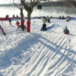 Le Village sportif d'hiver de la base de loisir de Vaires/Torcy