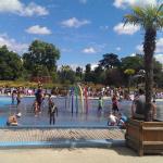 Jardin-Plage au Jardin d'Acclimatation