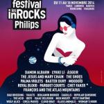 Festival Les Inrocks Philips 2014 à Paris  : programmation, dates et réservations