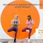 Les sessions gratuites Lolë de retour au BHV Marais