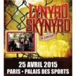 Lynyrd Skynyrd en concert au Palais des Sports de Paris en 2015