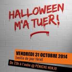 Halloween 2014 m'a TueR ! à la péniche Henjo