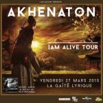 Akhenaton en concert à La Gaîté Lyrique de Paris en 2015