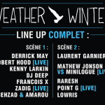 Weather Winter à Paris en 2015 : dates, programmation et réservations