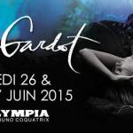 Melody Gardot en concerts à l'Olympia de Paris en juin 2015