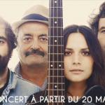 La famille Chedid en concert à l'Olympia de Paris en mai 2015
