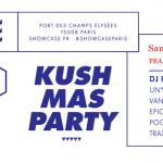 Tealer Xmas Kush Party au Showcase