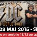 AC/DC en concert au Stade de France en mai 2015 : mise en vente le 18 décembre
