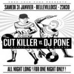 Cut Killer B2B Dj Pone All Night Long à La Bellevilloise