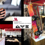 Ski Spot Quiksilver au Paris Marriott Champs Elysees Hotel