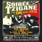 Soirée Tzigane à La Bellevilloise avec Pad Brapad